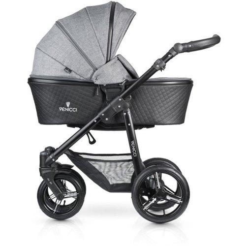 Venicci Shadow 3-in-1 - Denim Grey Travel System