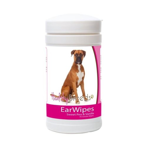 Healthy Breeds 840235149910 Boxer Ear Wipes