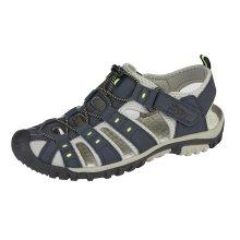 PDQ Mens Walking Sandal Blue 7 UK