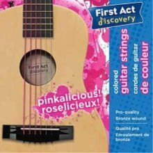 First Act Discovery Girls Guitar Strings - Pinkalicious