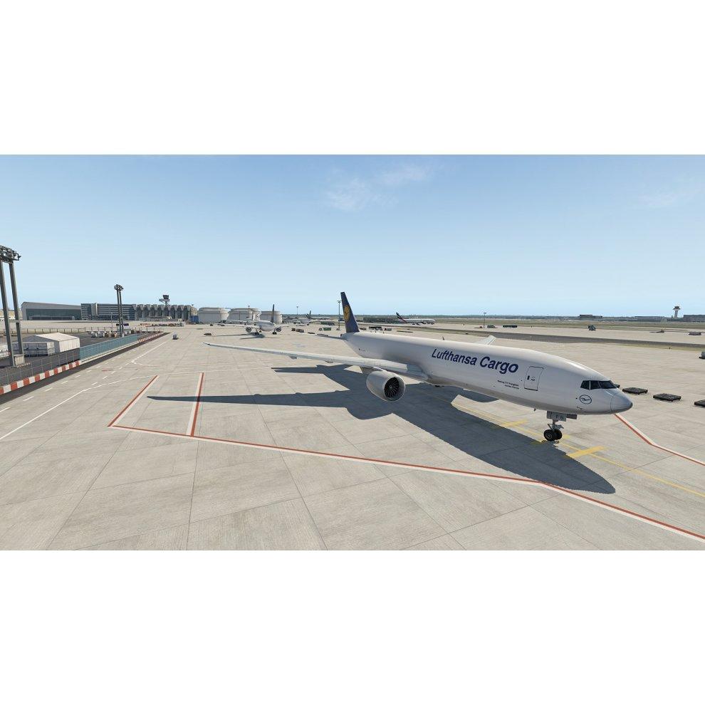 XPlane 11 AddOn Airport Frankfurt