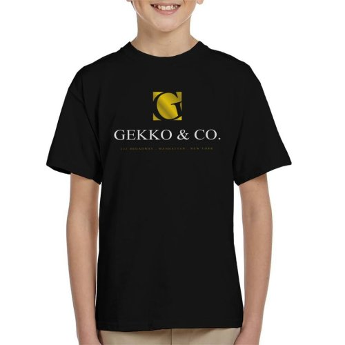 Gekko And Co Wall Street Kid's T-Shirt