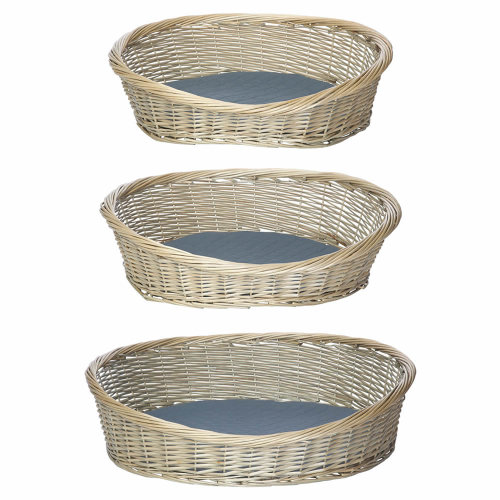 Wicker Dog Basket