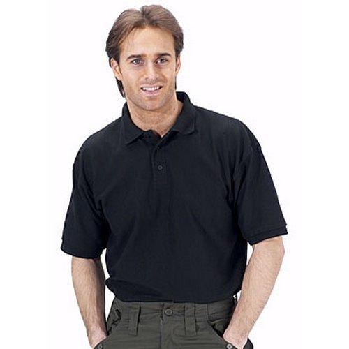 Click CLPKSBL4XL Polo Shirt Black 4XL