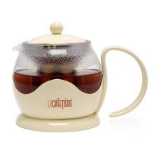 La Cafetiere 2 Cup Teapot in Cream