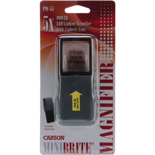 Carson MiniBrite Lighted Magnifier-