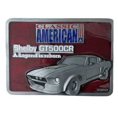 SHELBY MUSTANG Officially Licensed Belt Buckle