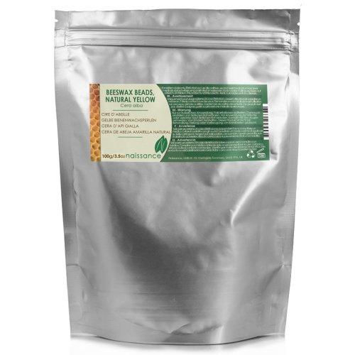 Naissance Yellow Beeswax 100g 100% Pure