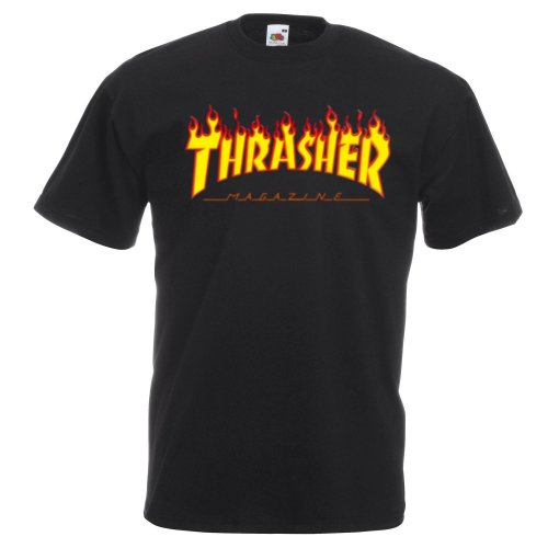 Thrasher Flame Logo Kids T-shirt