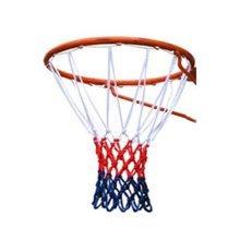 TRIXES 12 Loop Nylon Basketball Net Red/White/Blue