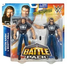 WWE nWo Outsiders Battle Pack - Kevin Nash & Scott Hall Figures