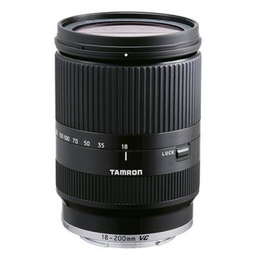 Tamron 18-200 mm VC Di III Lens For Canon EOS-M Cameras - Black