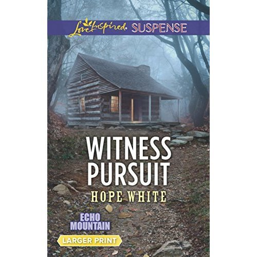 Witness Pursuit (Love Inspired Suspense Large Print)