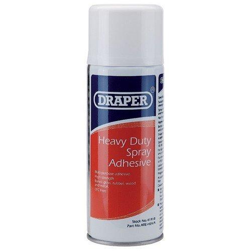 Draper 41918 400ml Heavy Duty Spray Adhesive