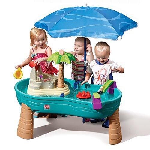 Step2 Splish Splash Seas Water Table With Umbrella