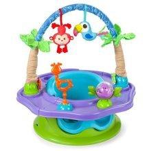 Summer Infant 3-Stage Super Seat Island Giggles