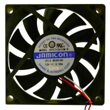 12V JAMICON Cooling Fan Long Life 3 wires 70x70x15mm