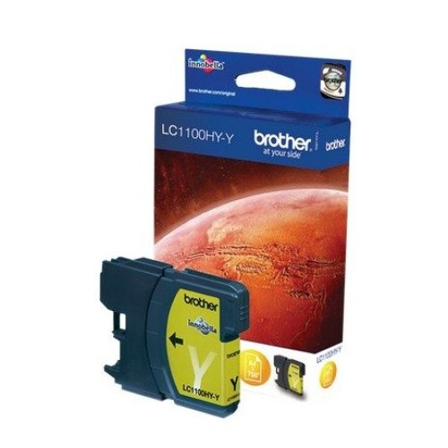 Brother Lc-1100hyy Ink Cartridge Yellow Ink Cartridge