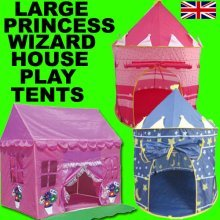 POP UP TENT PRINCESS FAIRY TALE CASTLE / WIZARD SORCERER / DREAM HOME [Princess Castle]