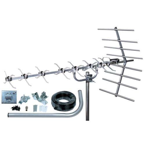 Loft & Outdoor Digital TV Aerial, SLx 27884K4 4G Filtered 48 Element Aerial for Digital TV With Full Kit High Performance