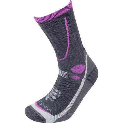 Lorpen Womens T3 Midweight Hiker Socks Charcoal (Medium UK 6-8)