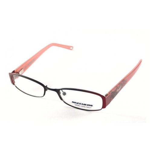 Skechers Glasses 2028 Black Burgundy OM/C