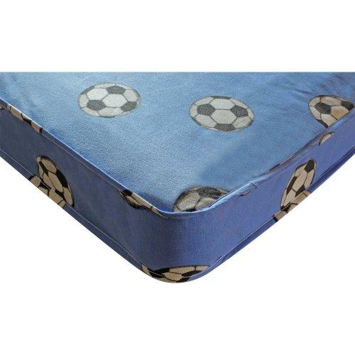 Kidsaw Football Single 3ft Mattress - Blue