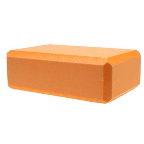 High Density Yoga Block Non-slip Blocks Bricks Yoga Mat Accessory Sports, Orange