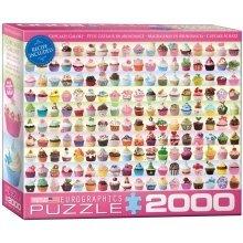 "Eg82200629 - Eurographics Puzzle 2000 Pc - Cupcakes Galore """"new"""""