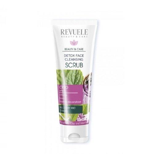Revuele Detox Face Cleansing Scrub Cryo Effect 80ml