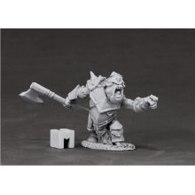 Reaper Miniatures Dark Heaven Legends 03852 Armoured Goblin Boss