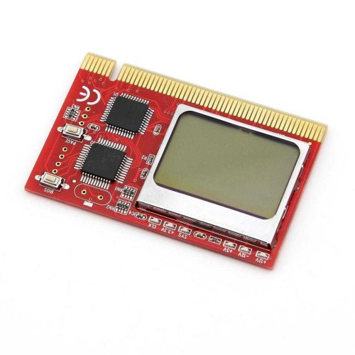 LCD Desktop PC Mainboard POST CODE PCI Slot Diagnostic Analyzer Card