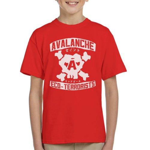 Avalanche Eco Terrorists Final Fantasy VII Kid's T-Shirt