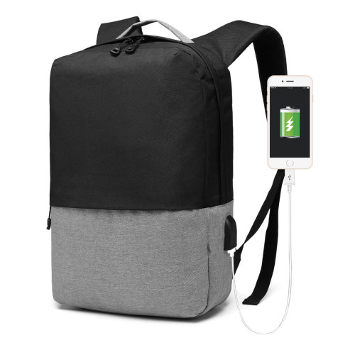 Kono Waterproof Backpack with USB Charging Port School Bag for Boys Girls