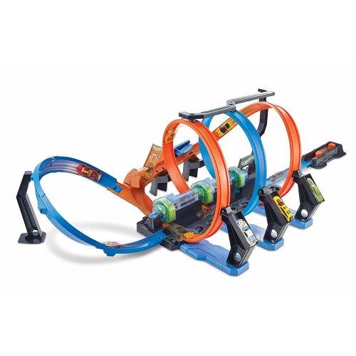 Hot Wheels Corkscrew Crash, Connectable Track Set