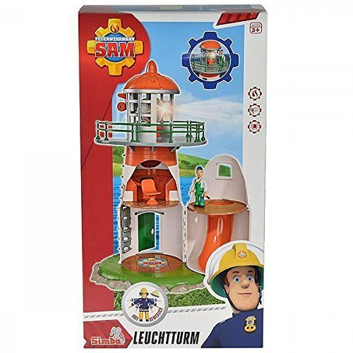 "SIMBA 109252133 ""Fireman Sam - Lighthouse Playset with Figurine"