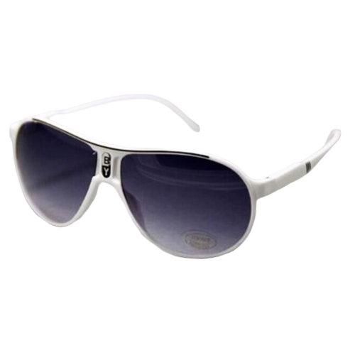 Outdoor Cool Eyeglasses UV Prevention Cycling Sunglasses For Children-White