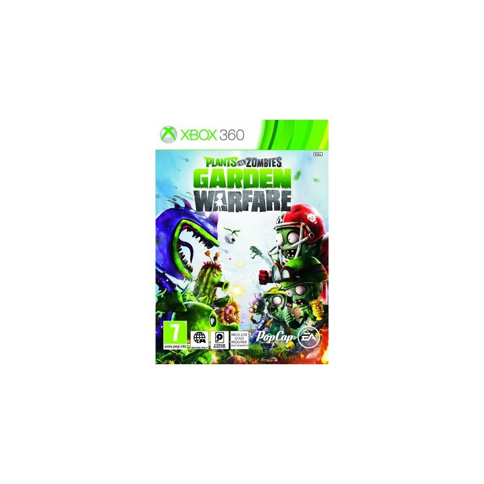 Used Plants Vs Zombies Garden Warfare Xbox 360 On Onbuy