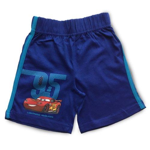 Cars Shorts - Blue