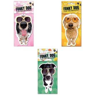 Funky Dog Air Freshener