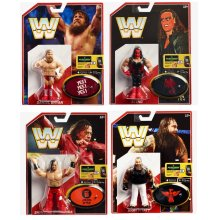 WWE Retro - Series 6 - Complete Figure Set