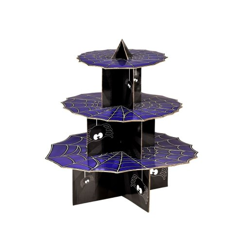 3-Tier Incy Wincy Spider Cake Stand