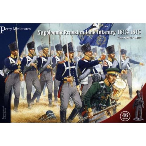 Perry Miniatures Napoleonic Prussian Line Infantry and Volunteer Jagers