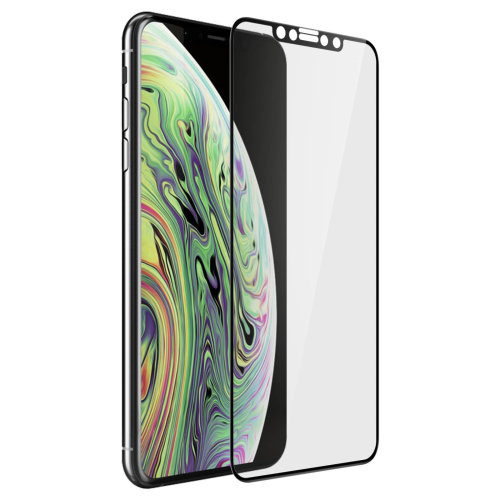 new concept 8a744 11439 Muvit Tiger Glass screen protector + applicator for Apple iPhone XS Max