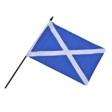12 St Andrews Hand Waving Flags