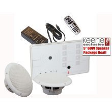 KLAB20DB Bluetooth In Wall Stereo Amplifier Kit Including PSU And Free pair of Loudspeakers