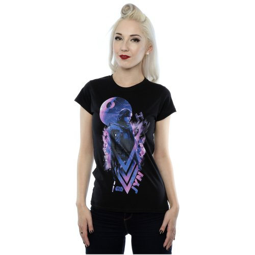 Star Wars Women's Rogue One Jyn Death Star T-Shirt