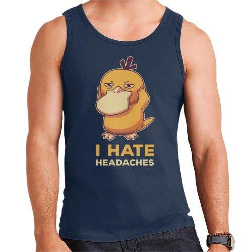 I Hate Headaches Psyduck Pokemon Men's Vest