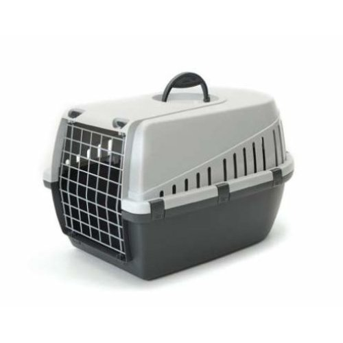 Trotter 2 Pet Carrier Airline Approved Grey 56x37.5x33cm (Pack of 3)