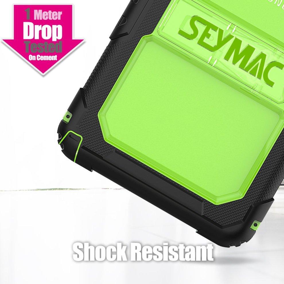 ... Samsung Galaxy Tab A 10.1 Case Kids - Full Body Rugged Shockproof, Black/Green ...